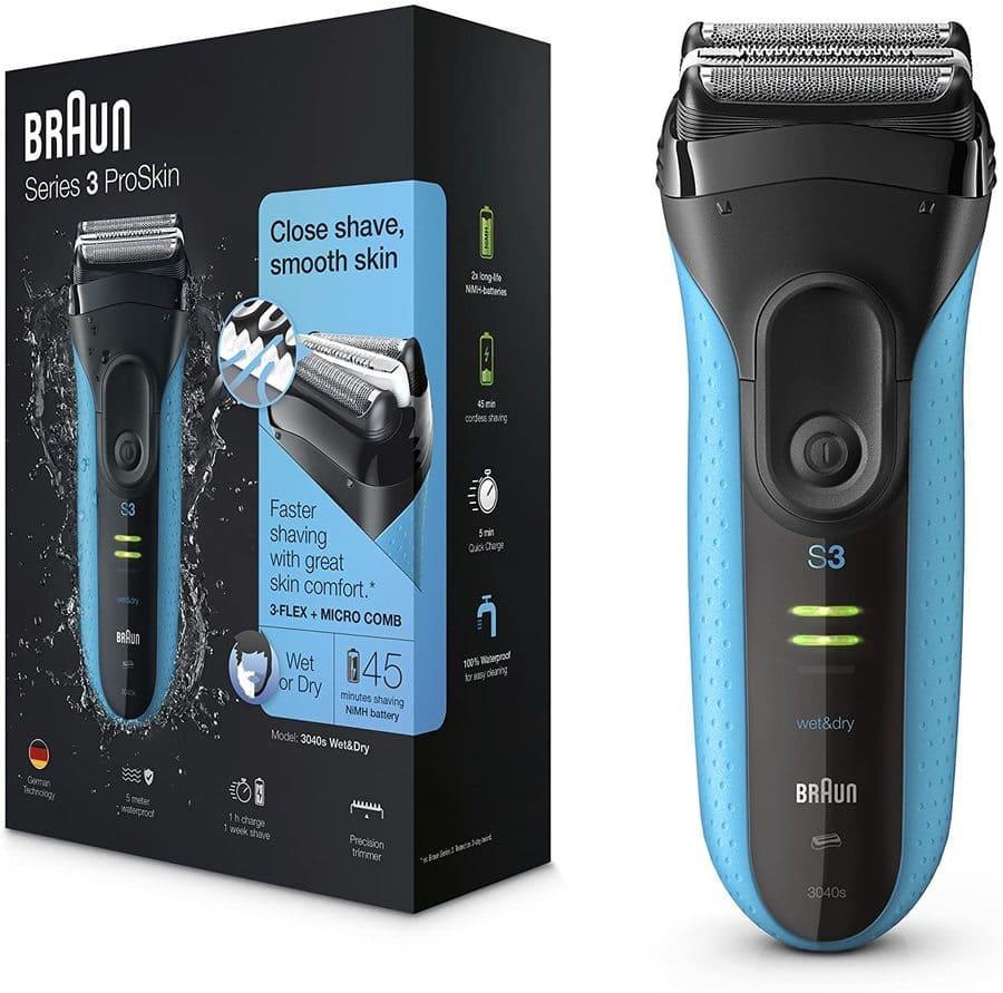 Braun Series 3 ProSkin: il rasoio elettrico per pelle sensibile