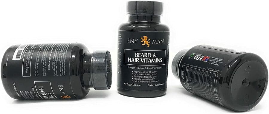 Beard Growth: integratori per una barba più folta