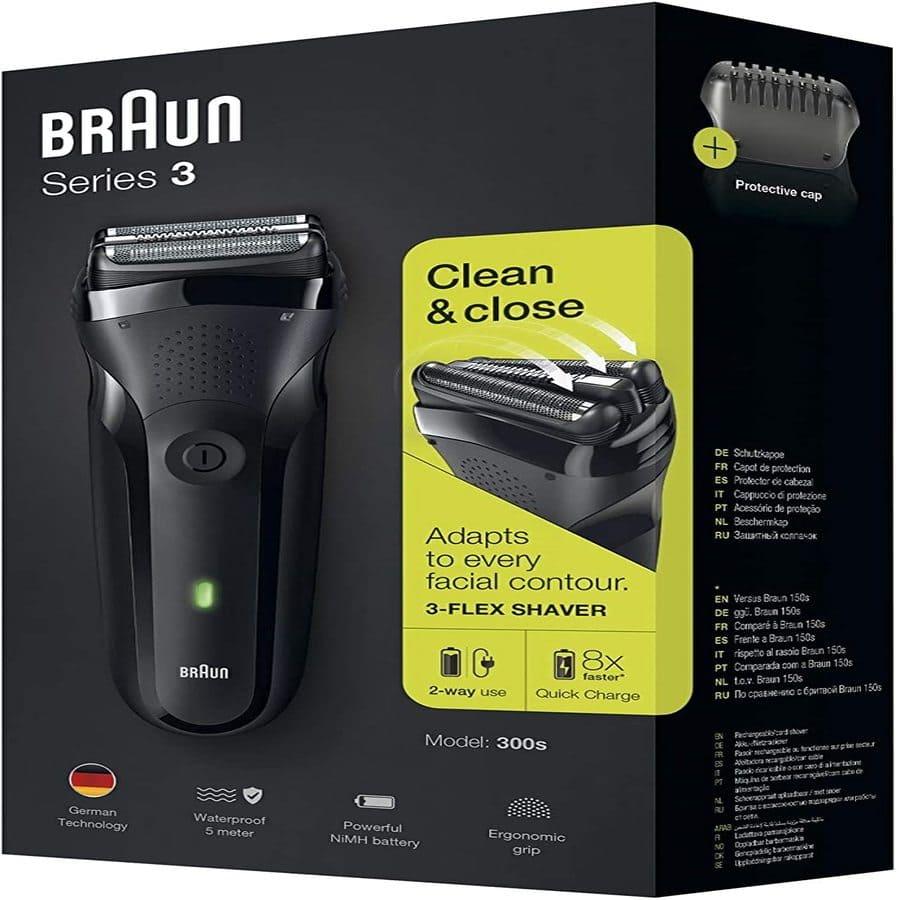 Il rasoio elettrico Braun Series 3 300s
