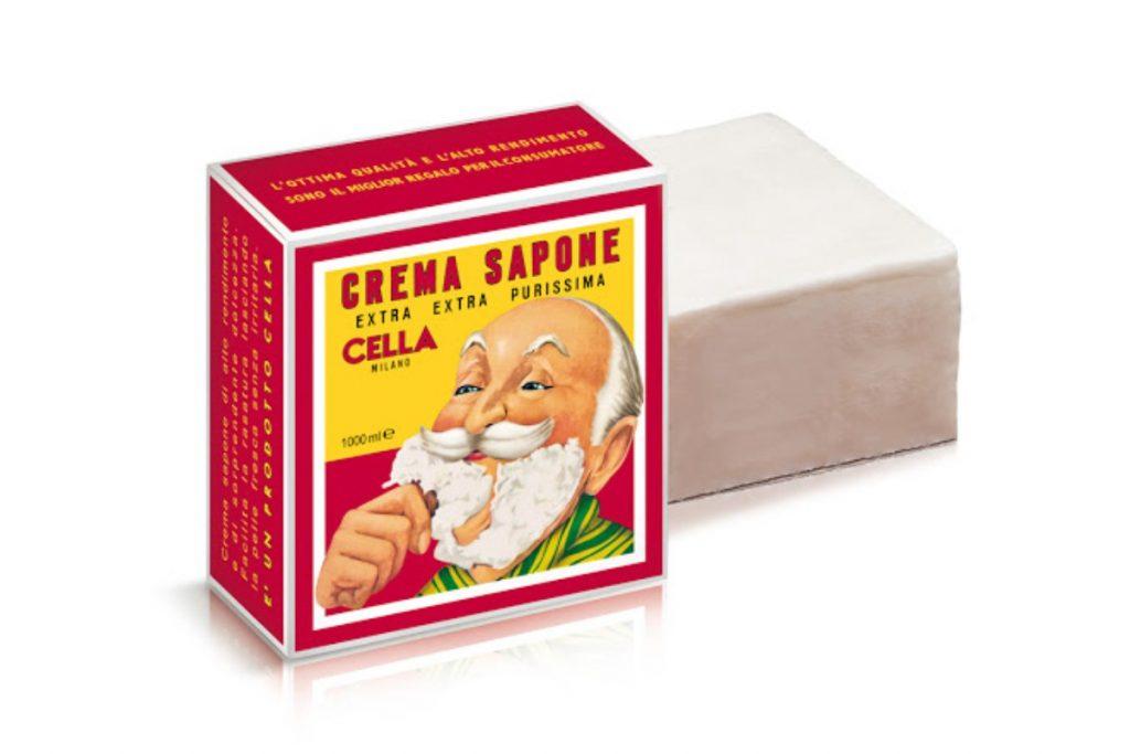 sapone da barba cella